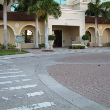 Site of Sarasota's 1925 railroad staion