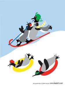 BAG-sledding