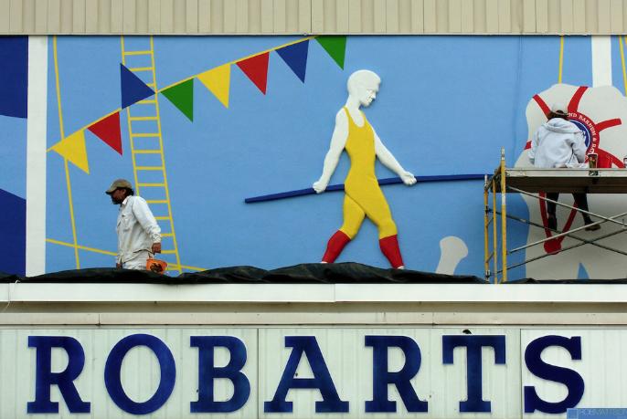 Mural Robarts Sports Arena